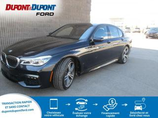 Used 2016 BMW 7 Series Berline 4 portes 750i, traction intégral for sale in Gatineau, QC