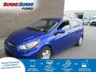 Used 2013 Hyundai Accent Voiture à hayon, 5 p, boîte auto L *Disp for sale in Gatineau, QC