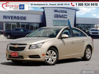 Used 2013 Chevrolet Cruze LT Turbo for sale in Prescott, ON