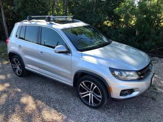 Used 2017 Volkswagen Tiguan Highline  R LINE Only 58800 km $108 weekly for sale in Perth, ON