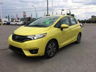 Used 2016 Honda Fit Ex, toit, caméra,  Superbe couleur!! BAS KM!!! for sale in Gatineau, QC