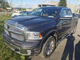 Used 2016 RAM 1500 LARAMIE/ LONGHORN / ECO  DIESEL / CUIR / for sale in Sherbrooke, QC