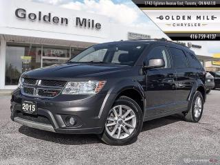 Used 2015 Dodge Journey SXT Clean Carfax, 3rd Row, Navi, DVD for sale in North York, ON