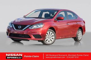 Used 2017 Nissan Sentra SV TRES BAS KM / CAMERA DE RECUL / PUSH START / BLUETOOTH for sale in Montréal, QC
