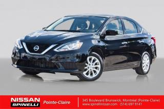 Used 2017 Nissan Sentra SV GARANTIE 10 ANS CVT / CAMERA DE RECUL / BLUETOOTH / PUSH START for sale in Montréal, QC