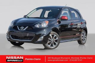 Used 2017 Nissan Micra SR SPORT / MANUELLE / CAMERA DE RECUL / BLUETOOTH / MAGS 16'' for sale in Montréal, QC