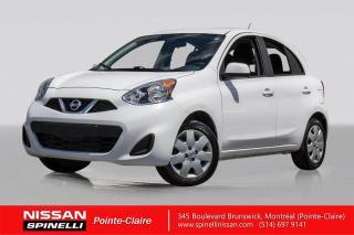 Used 2018 Nissan Micra SV COMME NEUF /  BAS KM / GROUPE ÉLÉCTRIQUE / BLUETOOTH / A/C for sale in Montréal, QC
