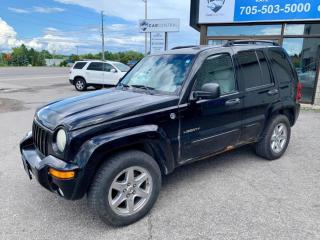 Used 2004 Jeep Liberty Limited 4WD for sale in Barrie, ON