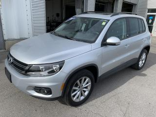 Used 2017 Volkswagen Tiguan Wolfsburg Edition 2.0T 6sp at w/Tip 4M for sale in Gatineau, QC