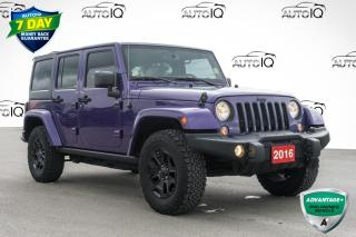 Used 2016 Jeep Wrangler Unlimited Sahara 4X4 YEAR ROUND FUN for sale in Innisfil, ON