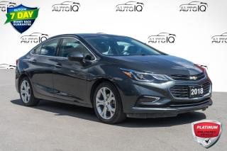 Used 2018 Chevrolet Cruze Premier Auto VERY CLEAN LOW MILEAGE CAR for sale in Innisfil, ON