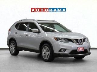 Used 2015 Nissan Rogue SL Navigation Leather PanoRoof Backup Camera for sale in Toronto, ON