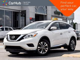 Used 2017 Nissan Murano S Navigation Apple CarPlay Heated Seats Dual Climate Bluetooth Cruise Control for sale in Thornhill, ON