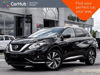 Used 2017 Nissan Murano Platinum AWD Bose Sound Panoramic Sunroof Navigation Remote Start for sale in Thornhill, ON