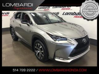 Used 2016 Lexus NX 200t FSPORT 3|AWD|NAVI|CUIR|TOIT| for sale in Montréal, QC
