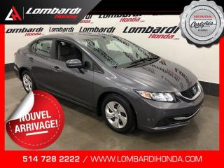 Used 2013 Honda Civic LX|AUTOMATIQUE|BLUETOOTH| for sale in Montréal, QC