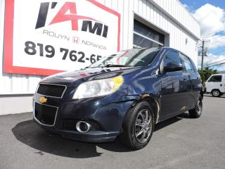 Used 2010 Chevrolet Aveo 5dr Wgn LS for sale in Rouyn-Noranda, QC