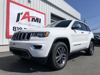 Used 2017 Jeep Grand Cherokee 4WD 4Dr Limited for sale in Rouyn-Noranda, QC