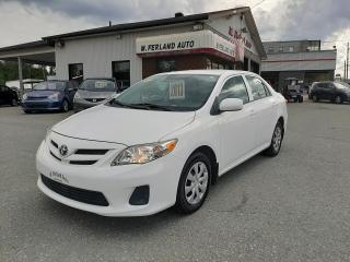 Used 2013 Toyota Corolla Berline 4 portes, boîte automatique, CE for sale in Sherbrooke, QC