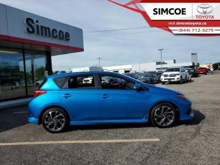 Used 2017 Toyota Corolla iM CVT  - Certified - Heated Seats - $137 B/W for sale in Simcoe, ON