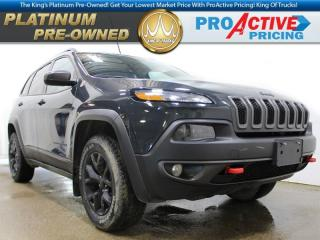 Used 2017 Jeep Cherokee Trailhawk | 4cyl | Remote Start | NAV | HTD Steeri for sale in Virden, MB