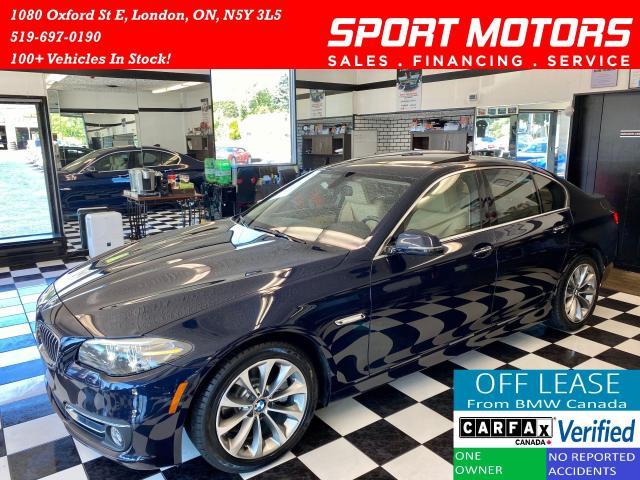 2016 BMW 5 Series 528i xDrive+HUD+Soft Close Doors+Accident Free