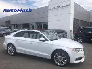 Used 2015 Audi A3 *KOMFORT *MAGS 18 *AWD *QUATTRO *TOIT-OUVRANT for sale in St-Hubert, QC
