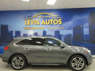 Used 2018 Acura MDX NAVI SH-AWD 34000 KM 7 PASSAGERS GPS TOI for sale in Lévis, QC