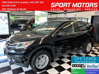 Used 2016 Honda CR-V LX AWD+New Tires & Brakes+Camera+Accident Free for sale in London, ON
