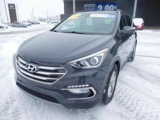 Used 2017 Hyundai Santa Fe Sport AWD 4dr 2.4L SE,TOIT,CUIR,CAMERA,MAGS+++ for sale in Mirabel, QC