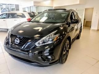 Used 2018 Nissan Murano MIDNIGHT EDITION **JAMAIS ACCIDENTÉ** for sale in St-Eustache, QC