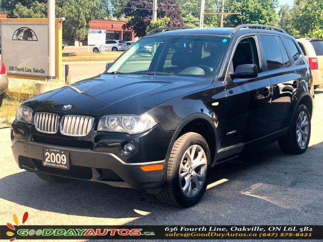 2009 BMW X3 30i|LOW KM|NO ACCIDENT|SUNROOF|AWD|CERTIFIED