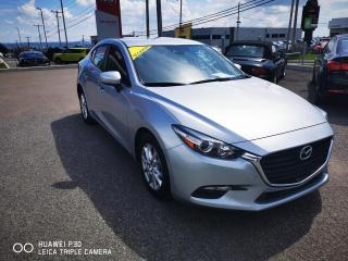 Used 2017 Mazda MAZDA3 Berline 4 portes, boîte manuelle, GS for sale in Beauport, QC