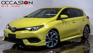 Used 2016 Scion iM BLUETOOTH+CAM.RECUL+A/C for sale in Boisbriand, QC