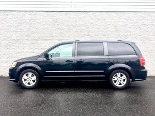 Used 2013 Dodge Grand Caravan CREW - CUIR/DVD - STOW - BAS PRIX for sale in Drummondville, QC
