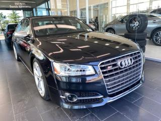 Used 2015 Audi S8 ONE OWNER, ACCIDENT FREE, MASSAGE SEATS, COOLED SEATS, 21' RIMS for sale in Edmonton, AB