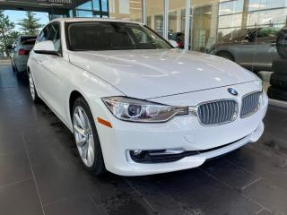 Used 2014 BMW 3 Series 320i xDrive, ACCIDENT FREE, SUNROOF, NAVI, POWER HEATED LEATHER SEATS for sale in Edmonton, AB