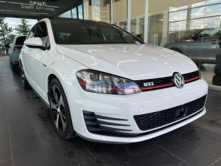 Used 2015 Volkswagen Golf GTI PERFORMANCE W/TECHNOLOGY PACKAGE, ONE OWNER, ACCIDENT FREE for sale in Edmonton, AB
