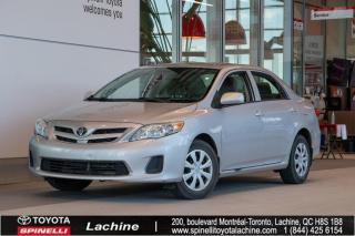 Used 2012 Toyota Corolla CE for sale in Lachine, QC