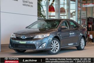 Used 2013 Toyota Camry HYBRID XLE HYBRID!! AUCUN DOMMAGES! for sale in Lachine, QC