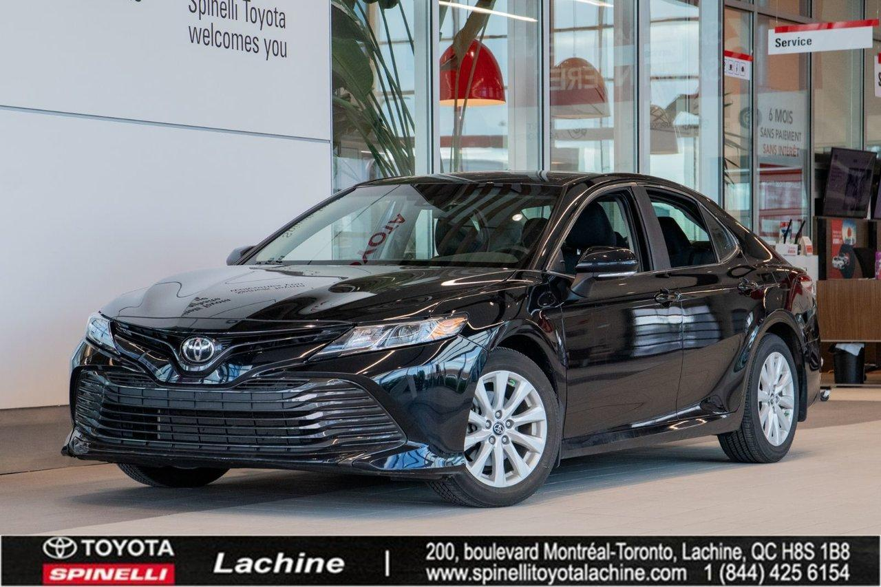 used 2018 toyota camry le bas mileage for sale in lachine, quebec carpages.ca