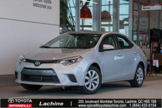 Used 2016 Toyota Corolla LE BAS MILEAGE! for sale in Lachine, QC