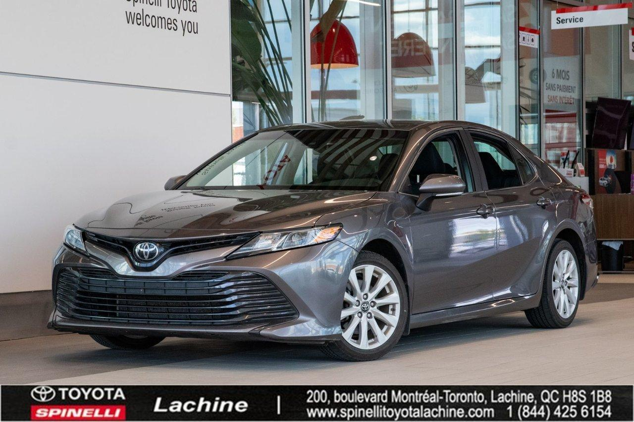 used 2018 toyota camry le bluetooth camera de recul for sale in lachine, quebec carpages.ca
