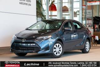 Used 2019 Toyota Corolla CE AUCUN ACCIDENT! for sale in Lachine, QC
