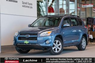 Used 2012 Toyota RAV4 Limited GPS! TOIT OUVRANT! CUIR! for sale in Lachine, QC