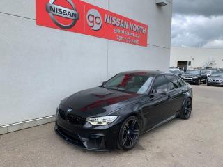 Used 2016 BMW M3 BMW / M3 / CUSTOM EXHAUST / CARBON FIBER TRIM / PREMIUM PACKAGE ENHANCED for sale in Edmonton, AB