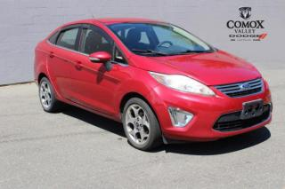 Used 2011 Ford Fiesta 4DR SDN SEL for sale in Courtenay, BC