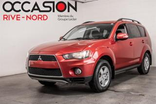 Used 2013 Mitsubishi Outlander LS V6 AWD BLUETOOTH+SIEGES.CHAUFFANTS for sale in Boisbriand, QC