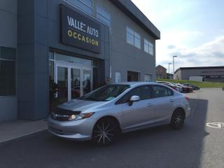 Used 2012 Honda Civic 4dr Man LX for sale in St-Georges, QC