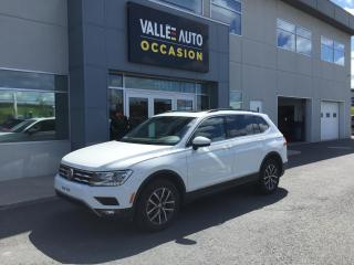 Used 2018 Volkswagen Tiguan Comfortline 4MOTION -Ltd Avail- for sale in St-Georges, QC